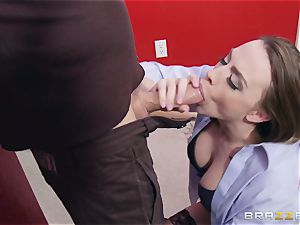 Married nymph Chanel Preston gets titfucked and her cooch penetrating by thief