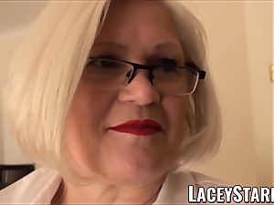LACEYSTARR - servant GILF bum tucked by Pascal white