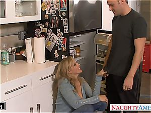 saucy Julia Ann boinked well and caked