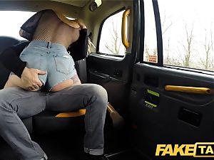 fake taxi Ava Austen in hot ultra-kinky cab boink