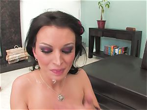 Bailey Brooks gets romped rock hard and caked in jizz