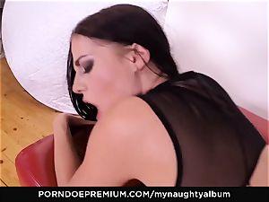 MY kinky ALBUM - Model Eveline Dellai filthy facial