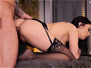 tastey Marley Brinx enjoying rectal hookup