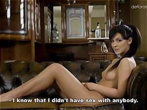 Bella Beretta being massaged and showcases her beautiful bod