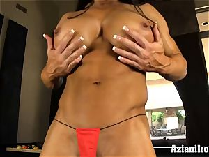 super-naughty fit chicks uses faux-cock on meaty pleasure button