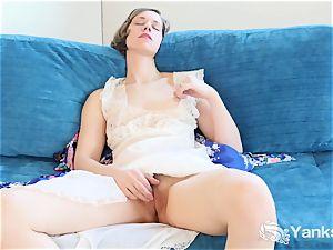 sweetheart Carmen masturbating Upskirt
