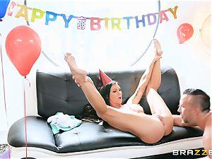 Melissa Lynn cunny birthday thrash with Keiran
