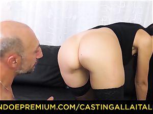 casting ALLA ITALIANA - dirty new-cummer assfuck casting