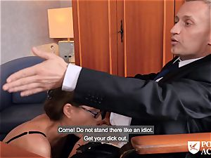 porn ACADEMIE - brit Tina Kay super-hot ass fucking in 3some