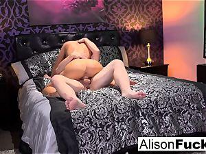 huge-titted Alison gets plowed rigid