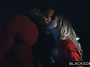 BLACKEDRAW boyfriend with cuckold fantasy shares his ash-blonde gf