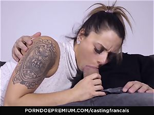casting FRANCAIS - splendid unexperienced very first porno pulverize