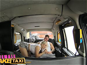 damsel faux cab big-titted bap jack makes man jizz stiff