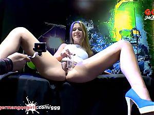 Czech stunner Alexis Crystal enjoys fat shaft GermanGooGirls
