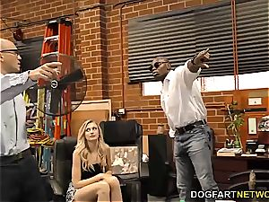 Alexa grace takes bbc in front of her husband