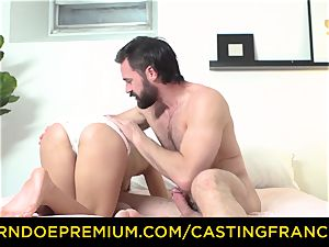 casting FRANCAIS - fledgling bombshell pounded and jism coated