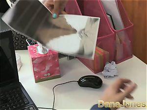 Dane Jones marvelous nubile black office dame