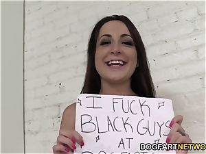Marley Blaze Gets Buttfucked By A ebony Stranger