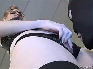 Many femdom dominatrixes dominate servant masculines