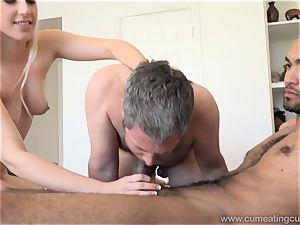 Niki Snow Makes spouse gargle gigantic dark-hued man sausage