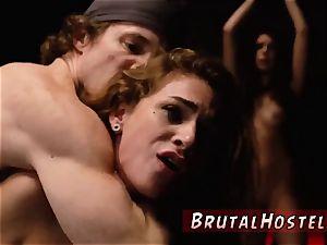 painful tit restrain bondage and punishment drizzle 2 youthful tarts, Sydney Cole and Olivia
