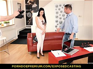 exposed casting - Taissia Shanti boinked rock hard in her culo