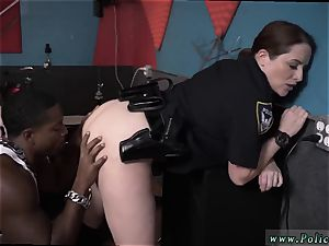 cougar frigs young bum and share large penis oral pleasure humid vid grabs police pulverizing a