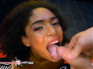 Luna Corazon humped and creamed - German Goo ladies