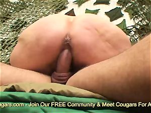 ginger-haired mummy nailed rock-hard by meaty boner
