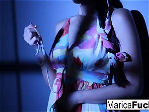 asian pornographic star Marica gets bare