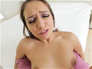 killer Sara Luvv providing a torrid pov blowjob and fuck