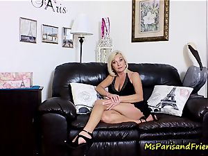 jizm on Mommy's baps with Ms Paris Rose