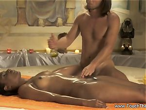 intimate relaxing massage For gal