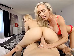 VR pornography - hookup With Ur girlfriend And Her Step-Mom
