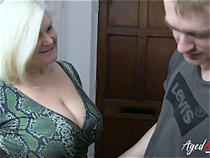 AgedLovE big-boobed Mature Lacey Starr gonzo paramour