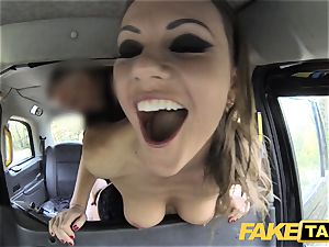 faux cab Posh dolls swollen cunt and butt screwed