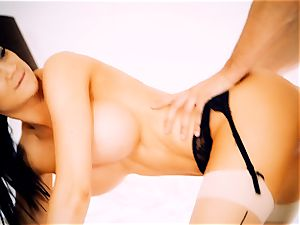 Jasmine Jae spanking super-hot platinum-blonde maid Tamara Graceass after cheating on the husband