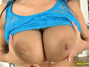 Anissa Kate getting trouser snake in her culo and muff