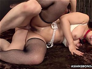providing her culo up in a wild sadism & masochism session