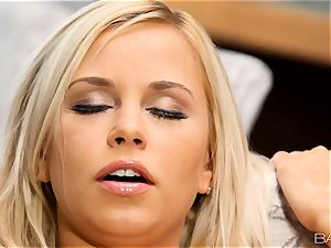 ash-blonde Lola Myluv gets super-steamy and super-naughty by herself